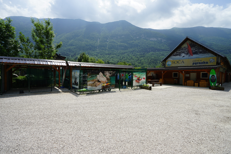 Basis der Soca-Kajakschule